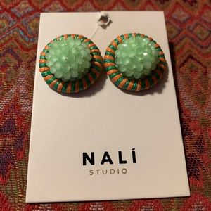 Anthropologie Jewelry - New Anthropologie Oversized Dome post earrings